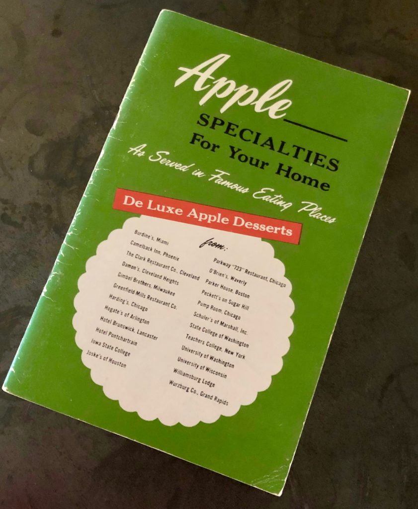 Apple Recipe Pamphlet - One Day Woman
