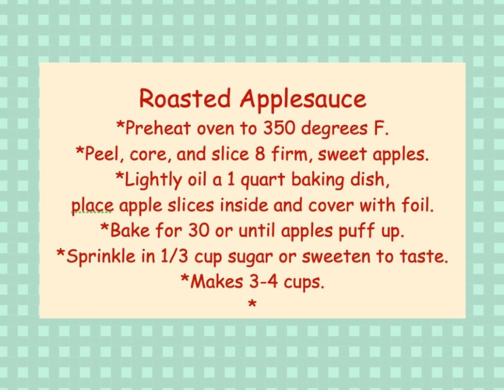 Roast Apple Recipe - One Day Woman